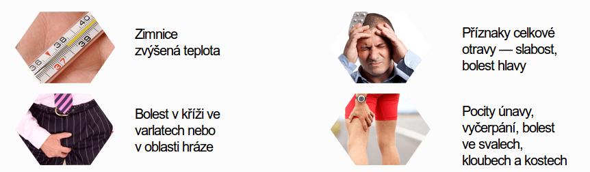 příznaky