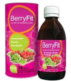 BerryFit kapky