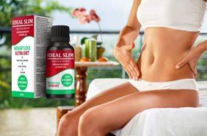 Ideal Slim – organické kapky s tělo-hubnutí vzorec pro zdravou velikost těla!