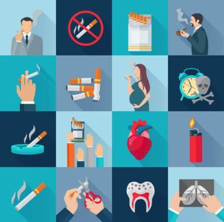 přestat kouřit, cigareta