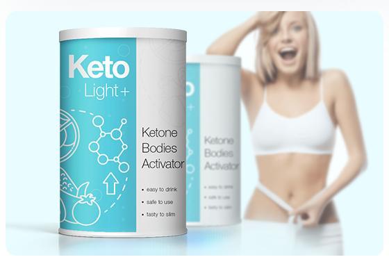 keto light plus + žena, hubnutí