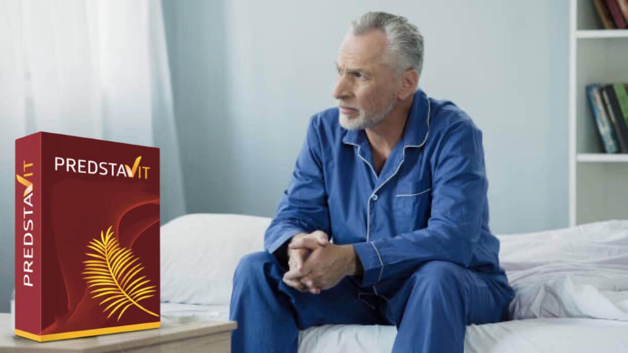 predstavit, muž, prostata, problém, bolest, nemoc