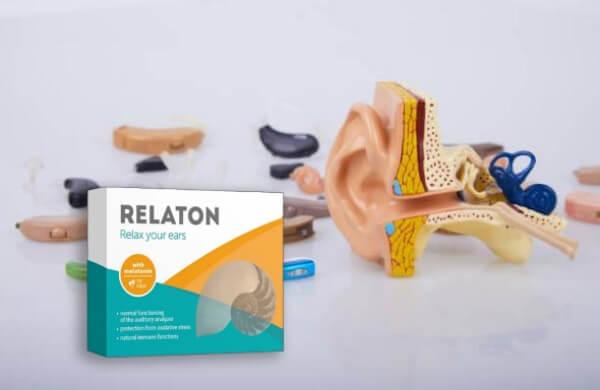 relaton kapsle sluch uši