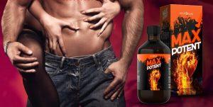 Max Potent – Bioformule s extraktem ze zázvoru pro mužnost!