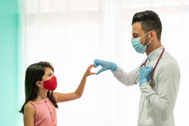 dítě, doktor, srdce