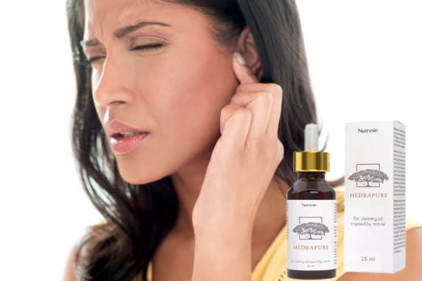 Kapky oleje na čištění uší